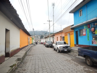 This is what all of the city part of our area looks like (San Cristobal)